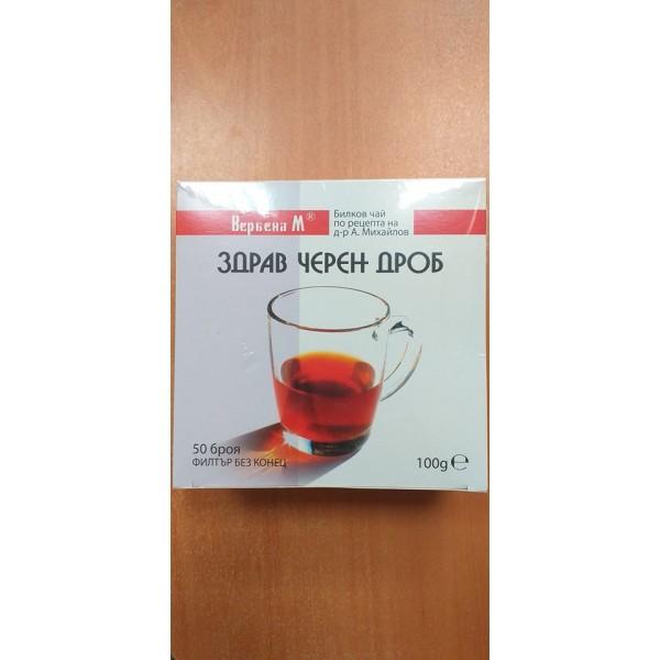 Чай Здрав черен дроб-Вербена М