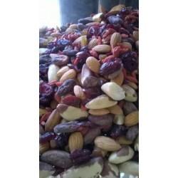 Суров микс от ядки и сушени плодове